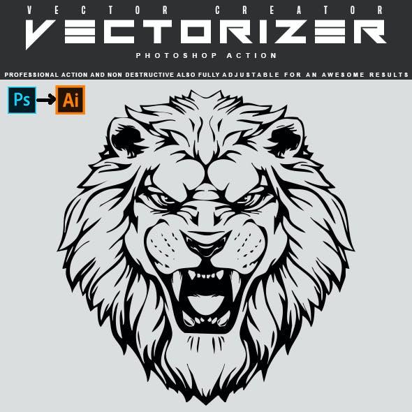 Vectorizer - Photoshop Action