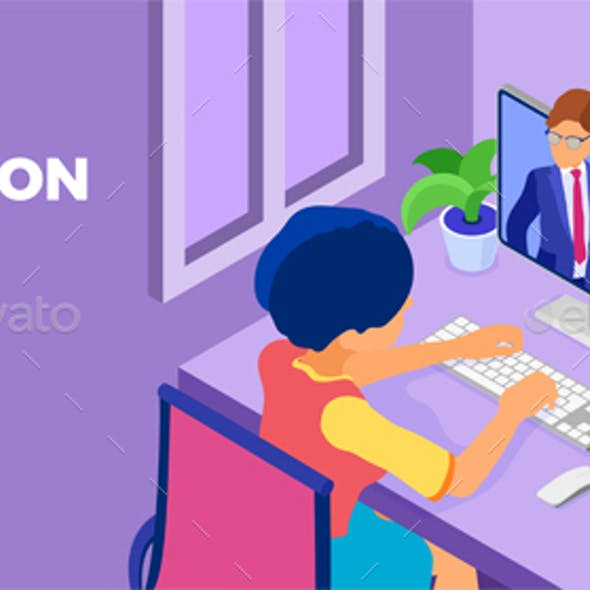 Online Education from Home