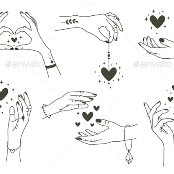 Magic Hands with Hearts