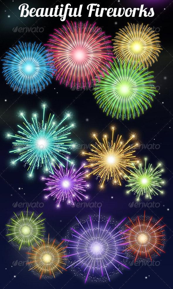 Fireworks - Seasons/Holidays Conceptual