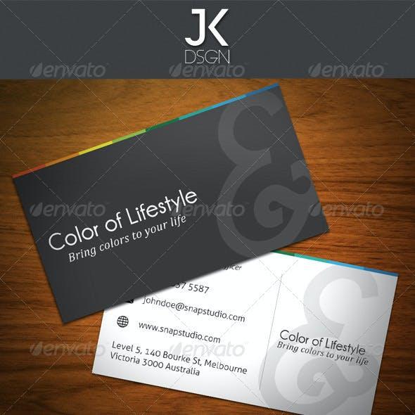 JK Colorful Lifestyles Stationery
