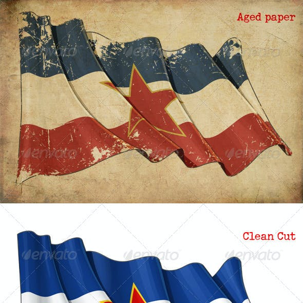 Yugoslavian Flag