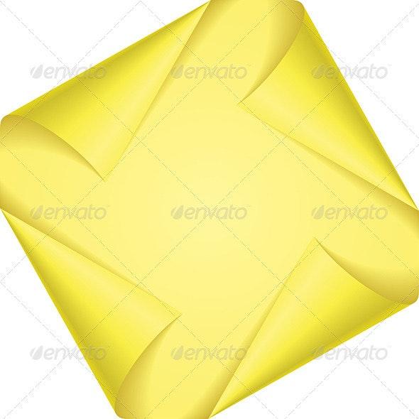 Set page corners - Decorative Symbols Decorative