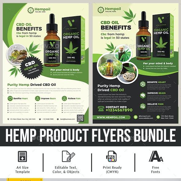 Hemp Product Flyer Bundle