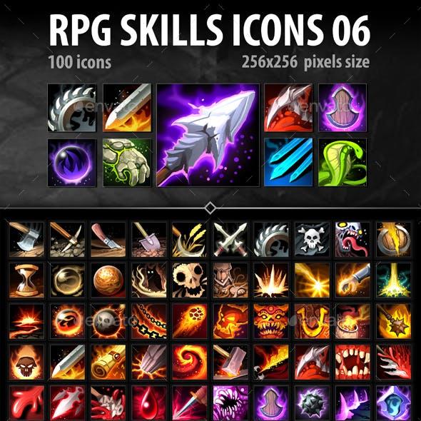 RPG Skills Icons 06