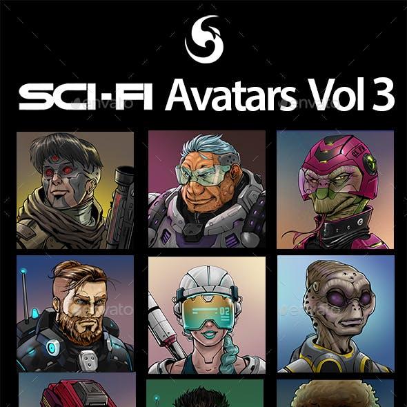 SciFi Characters Avatar Vol.3