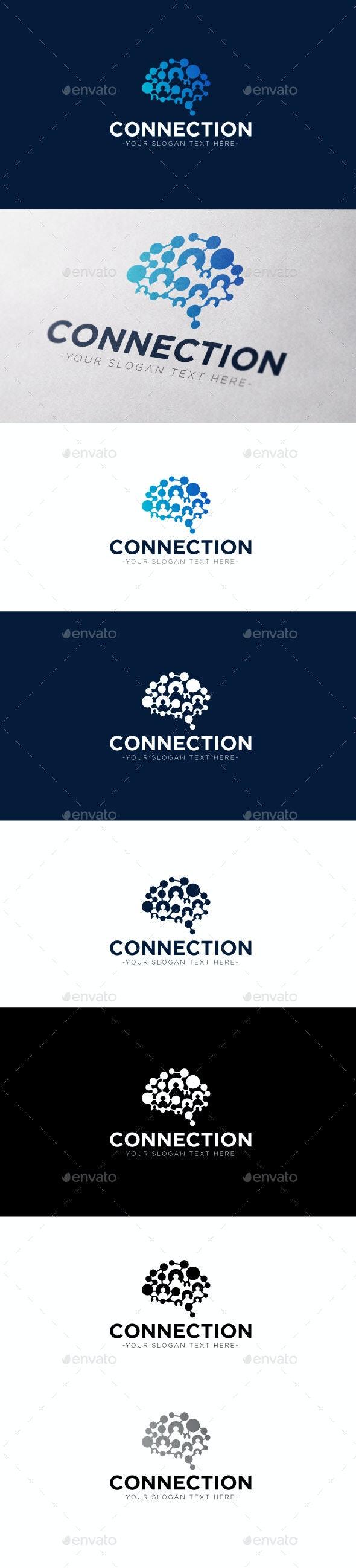 Connection Logo Template - Logo Templates