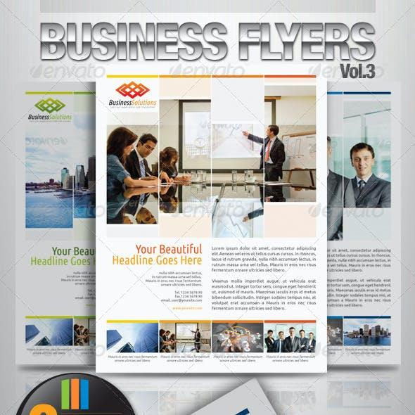 Simple & Clean Corporate Flyer Vol.4