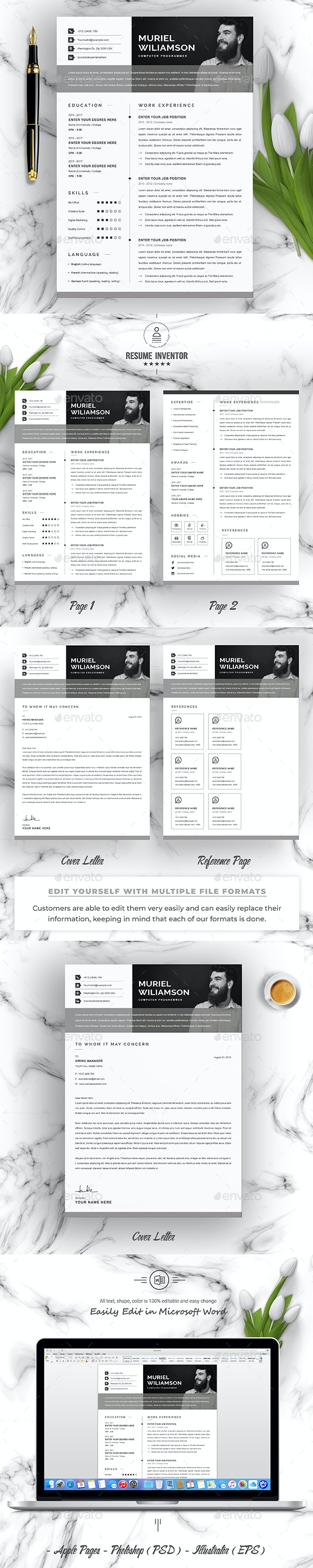 Simple CV - Resumes Stationery