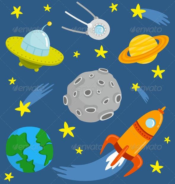 Space Set - Miscellaneous Conceptual