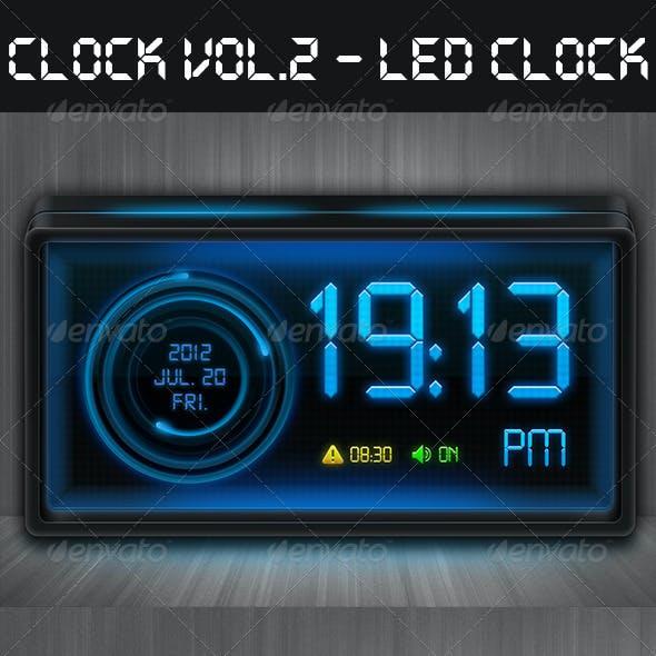 Clock Vol.2 - LED Clock