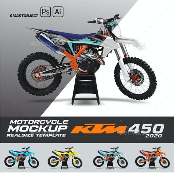 KTM 450 Mockup