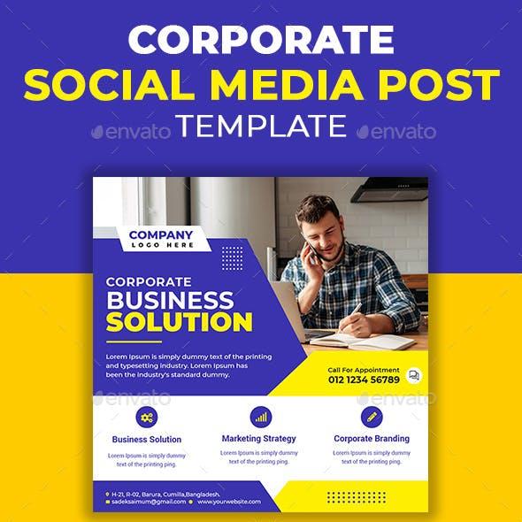 Corporate Business Social Media Template