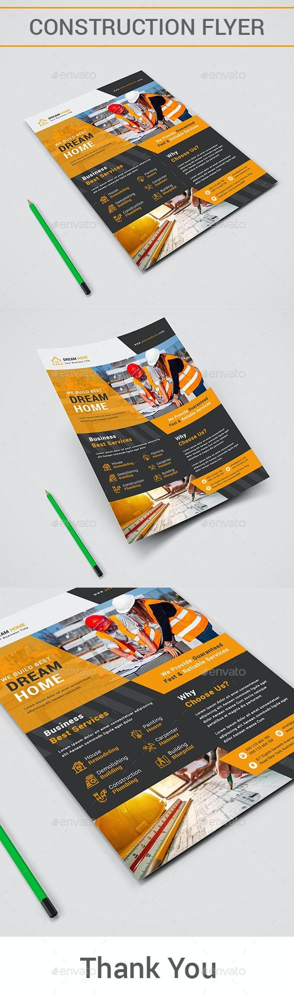 Construction Flyer - Corporate Brochures