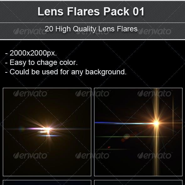 Lens Flares Pack 01