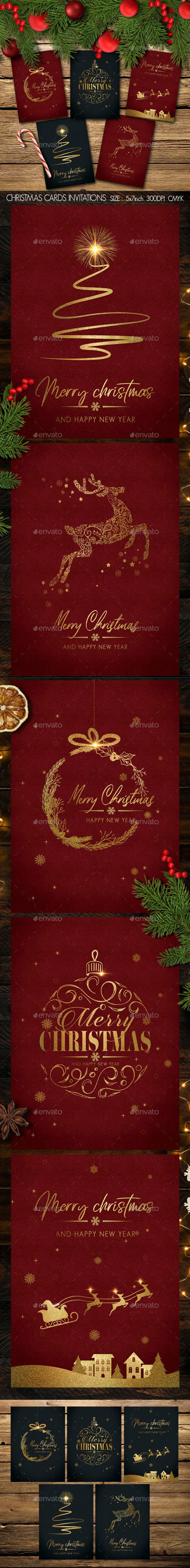 Christmas Cards Invitations - Christmas Greeting Cards
