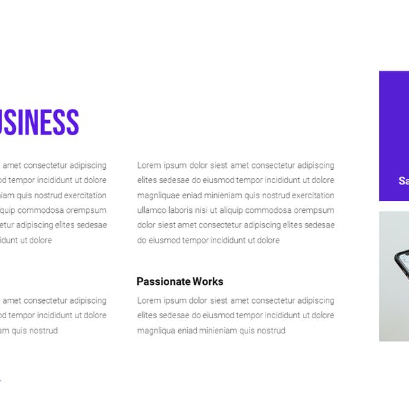 Oddading - Corporate Business PowerPoint Presentation Template