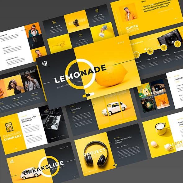 Flavo – Creative Business PowerPoint Template