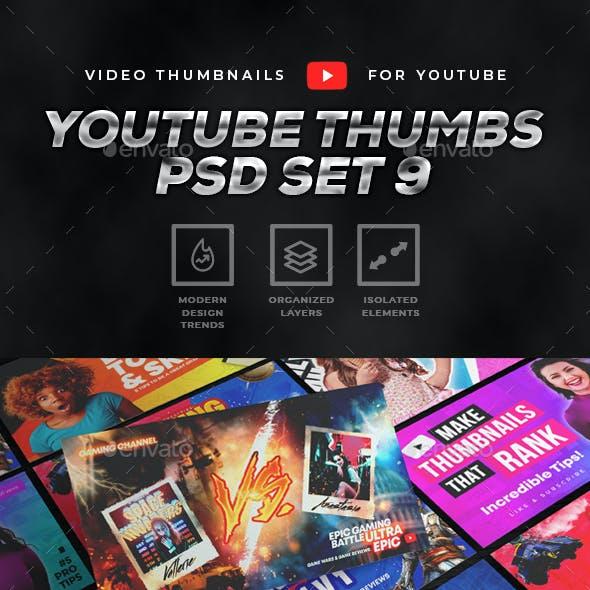 Youtube Thumbnail Set 9