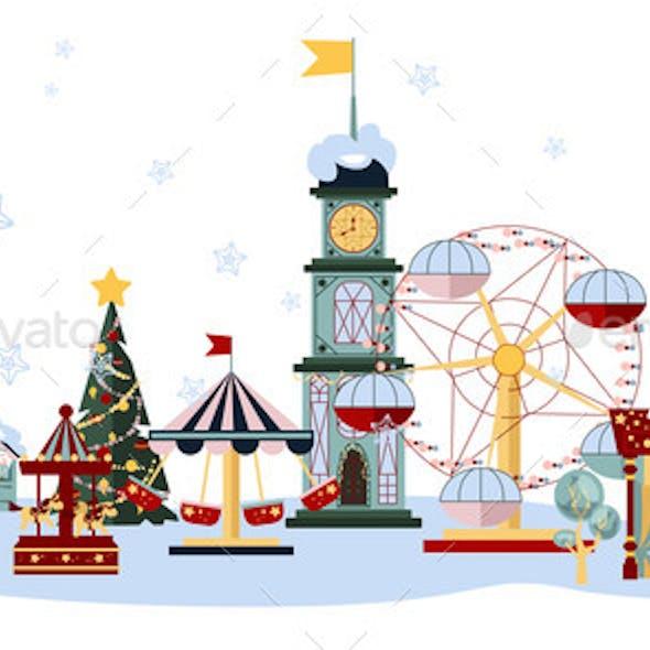 Winter Fair Set