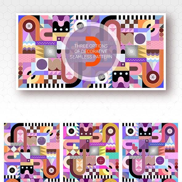 3 Seamless Geometric Pattern Designs