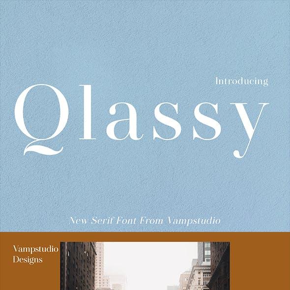 Qlassy Sans Serif Font