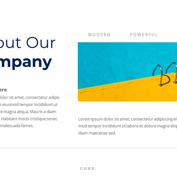 The Corp - Business PowerPoint Template