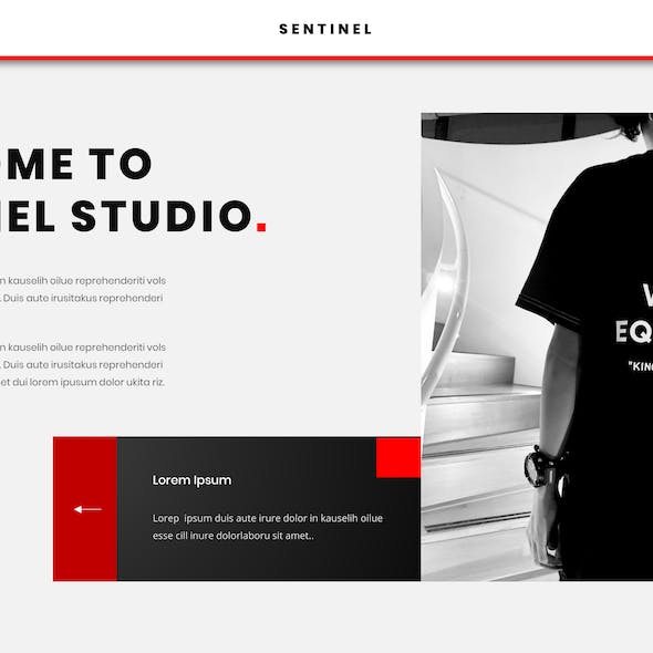 Sentinel – Business PowerPoint Template