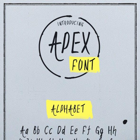 Apex font
