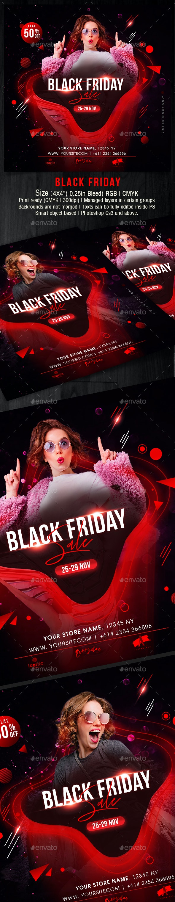 Black Friday - Holidays Events