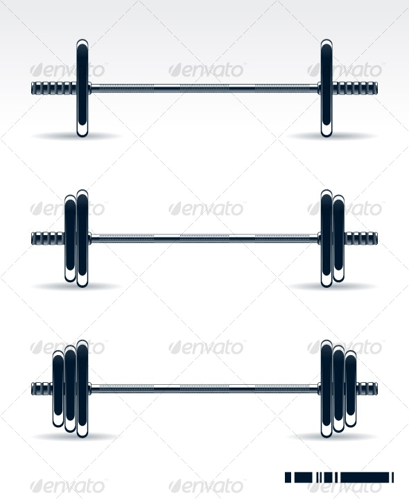 Bodybuilding equipment - Sports/Activity Conceptual