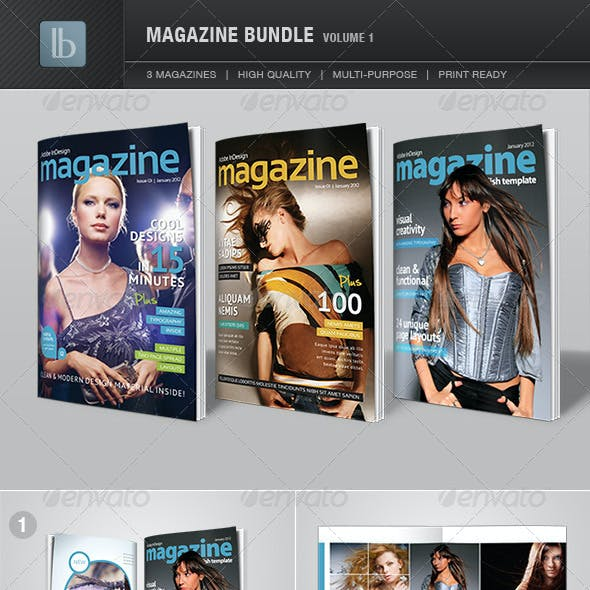 Magazine Bundle | Volume 1