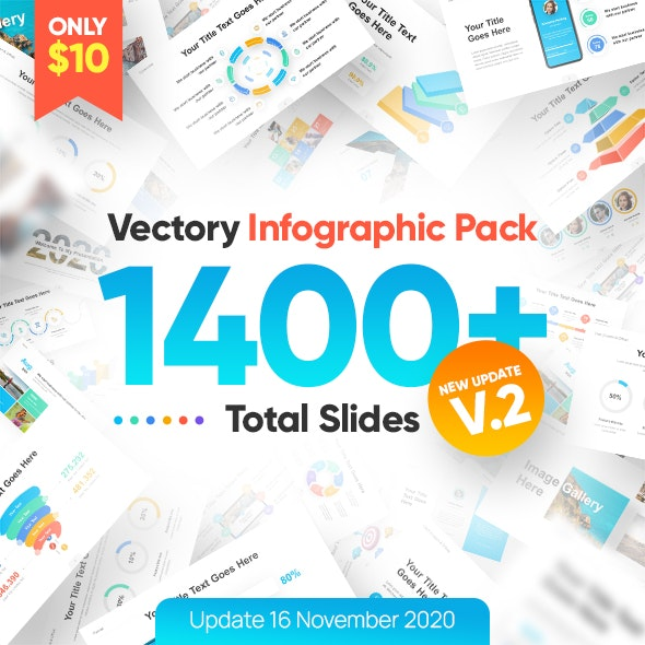 Vectory Infographic Asset Pack PowerPoint Presentation Template - Business PowerPoint Templates