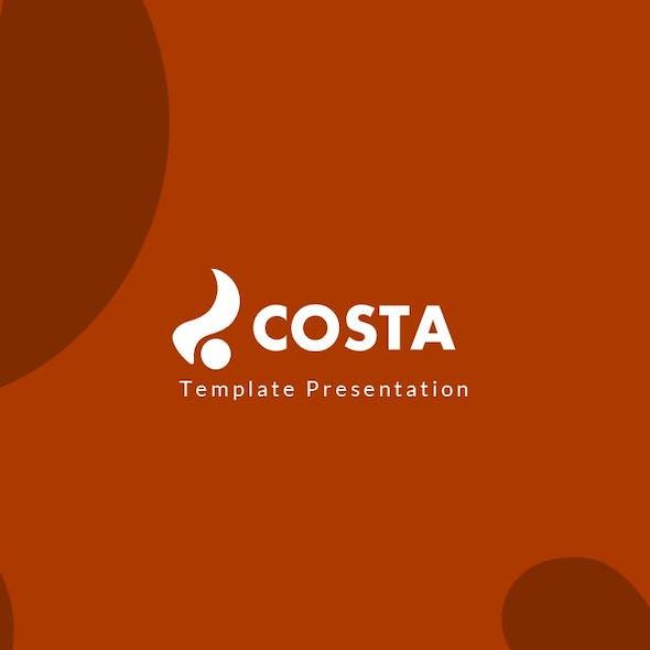 Costa Autumn Season Presentation Template