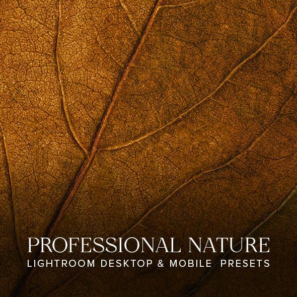 Professional Nature Desktop & Mobile Lightroom Presets