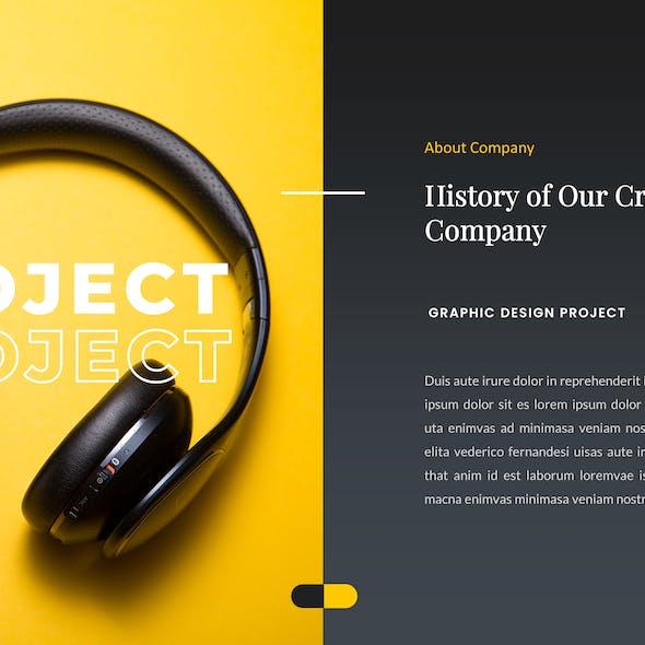 Flavo – Creative Business Google Slides Template