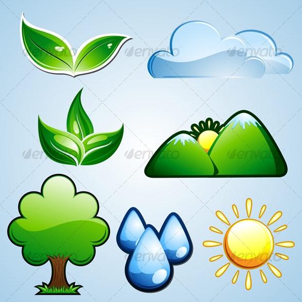 Nature/Environment Icon - Nature Conceptual