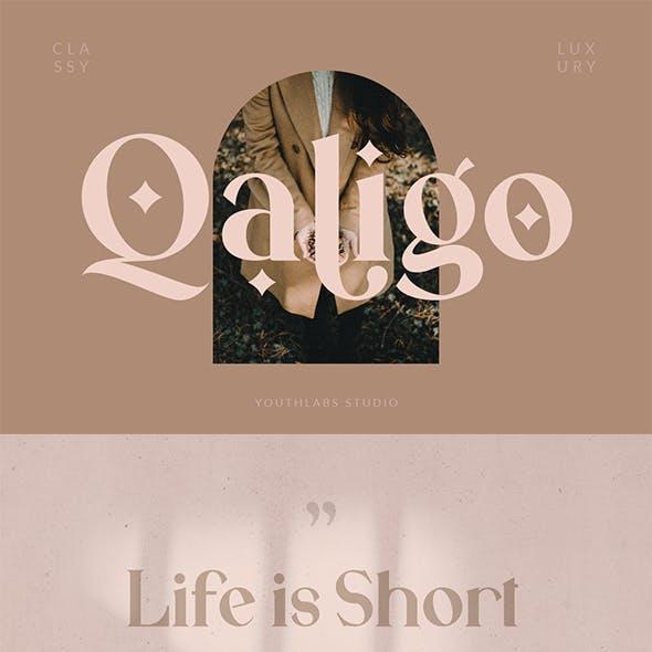 Qaligo | Elegant Serif