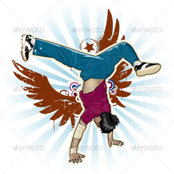 Breakdancer - People Characters