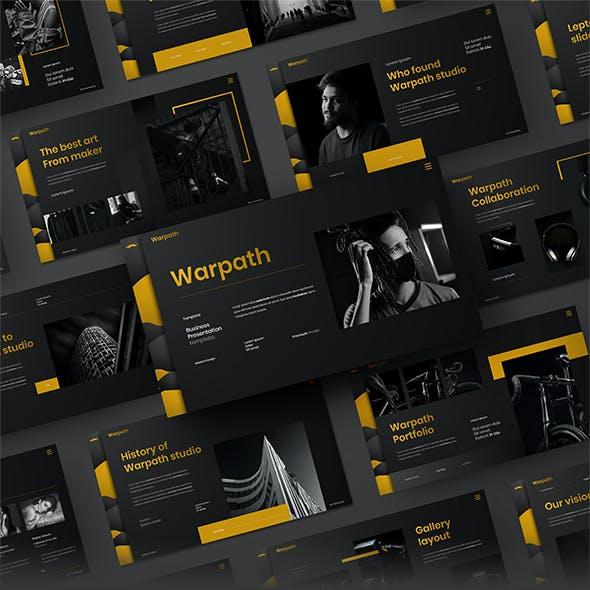 Warpath – Business Google Slides Template