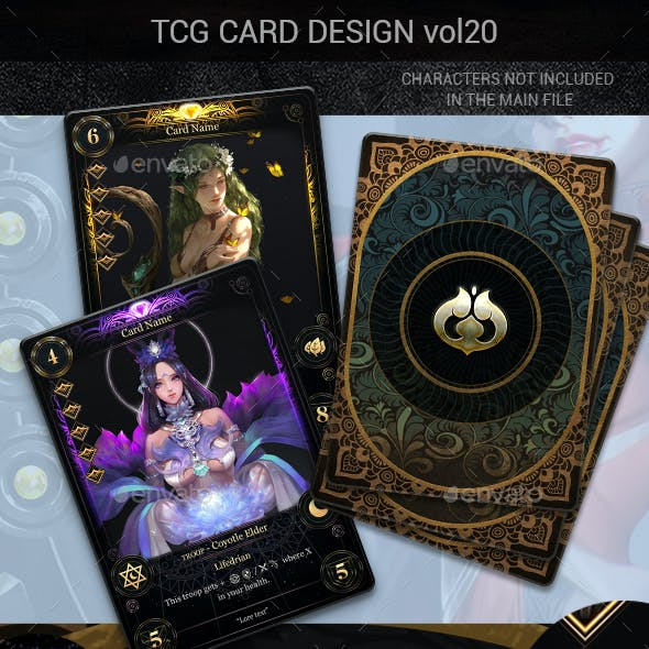 TCG Card Design Vol 20