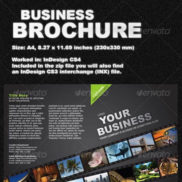 Green Business Brochure two-fold