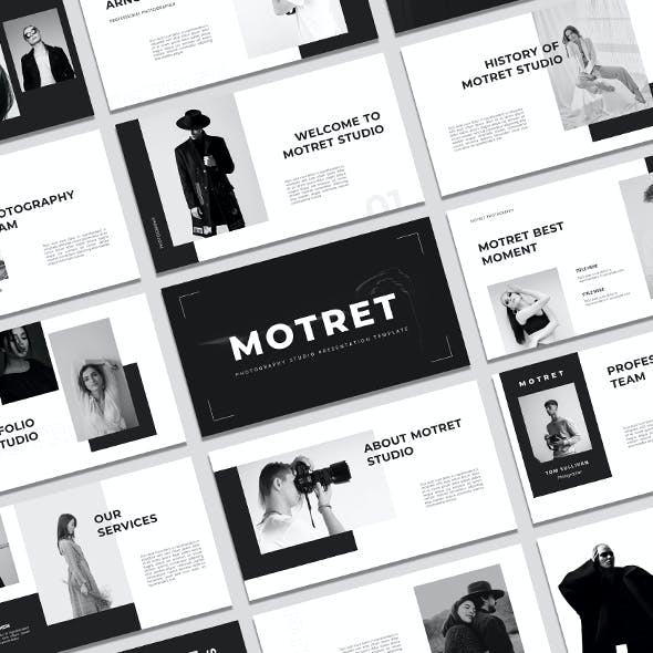 Motret - Photography Studio Powerpoint Template