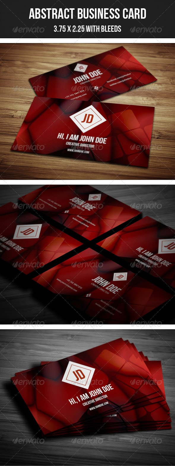 Creative Abstract Business Card -  - Creative Business Cards