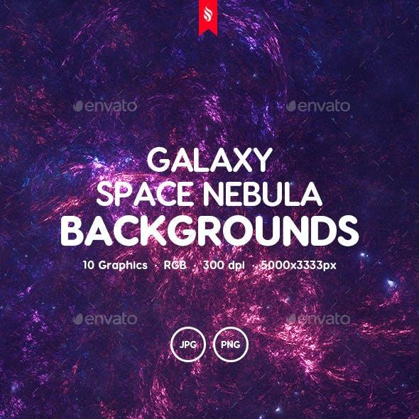 Galaxy - Space Nebula Background