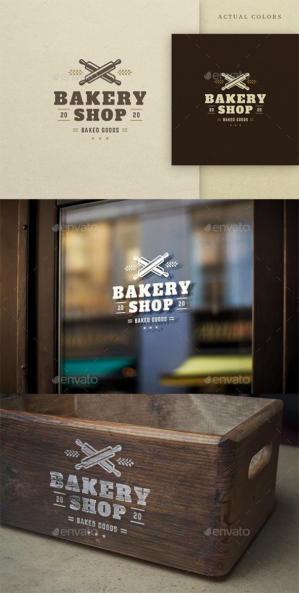 Bakery And Sweets Logo Design - Food Logo Templates