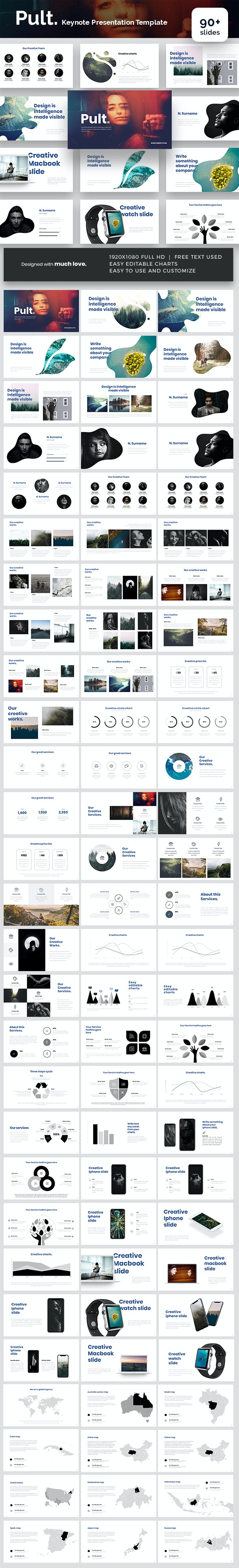 Pult Keynote Presentation Template - Keynote Templates Presentation Templates