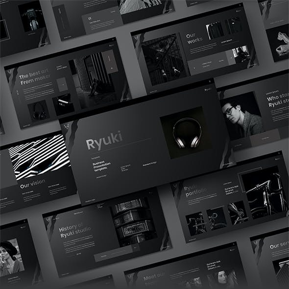 Ryuki – Business PowerPoint Template