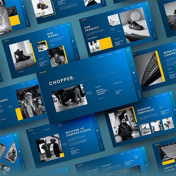 Chopper – Business PowerPoint Template