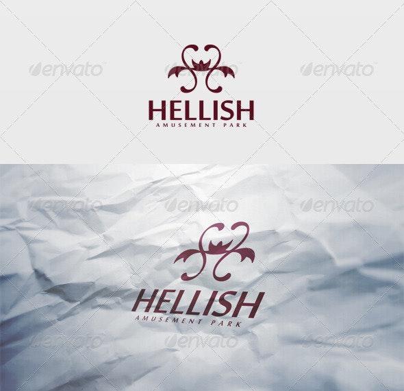 Hellish Logo - Letters Logo Templates